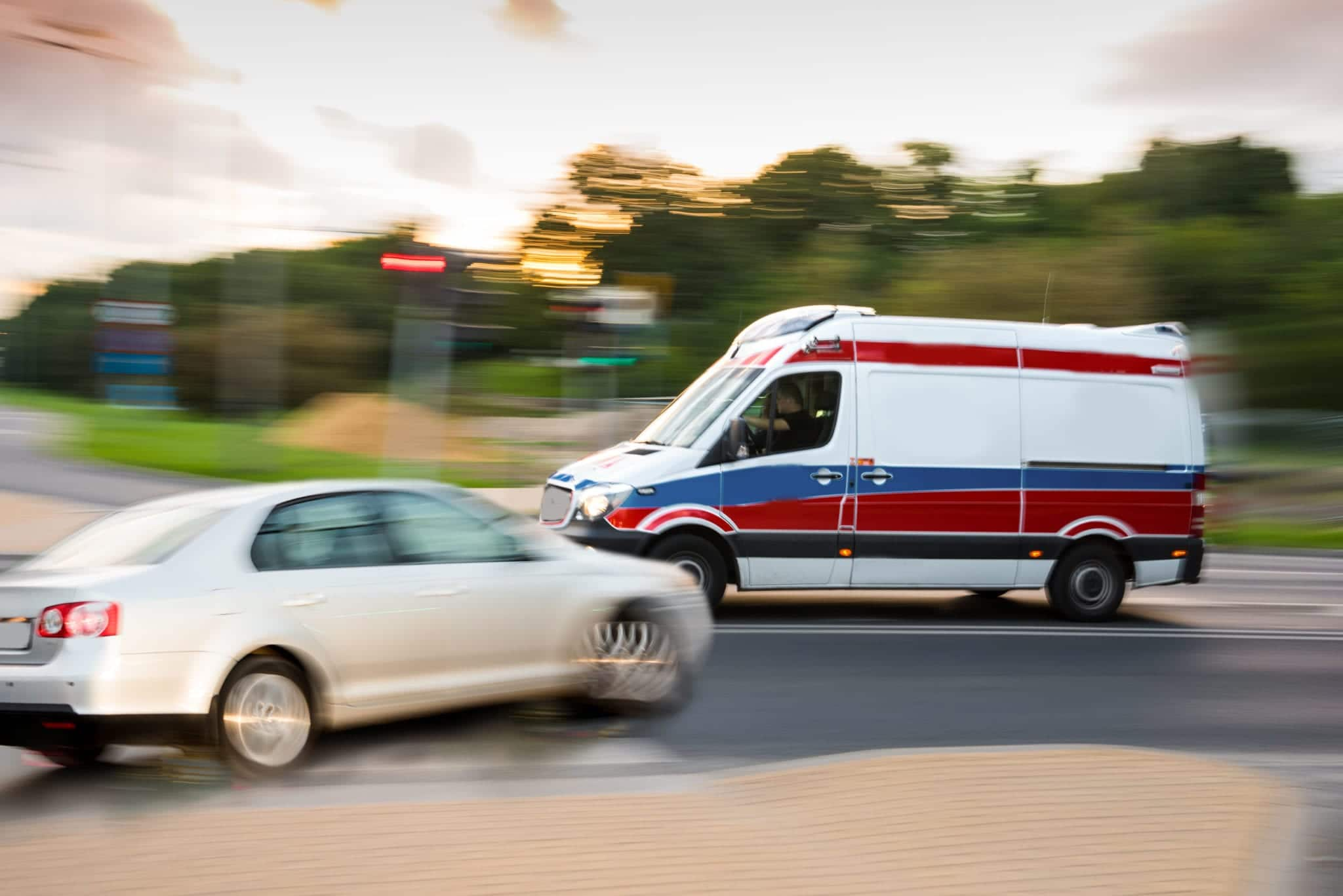 My Florida Ambulance Got Into a Wreck -- Can I Sue?